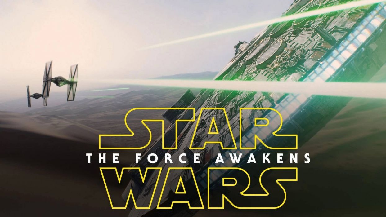 STAR WARS FORCE AWAKENS sci-fi disney action futuristic adventure fighting 1star-wars-force-awakens poster wallpaper