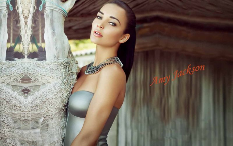 amy jackson bollywood actress model girl beautiful brunette pretty cute beauty sexy hot pose face eyes hair lips smile figure wallpaper