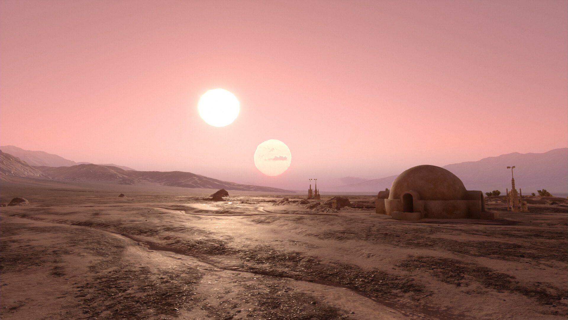 Tatooine Tunisia Wallpaper by HD Wallpapers Daily