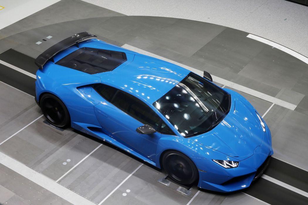 Novitec Torado Lamborghini Huracan N-Largo cars supercars modified blue wallpaper