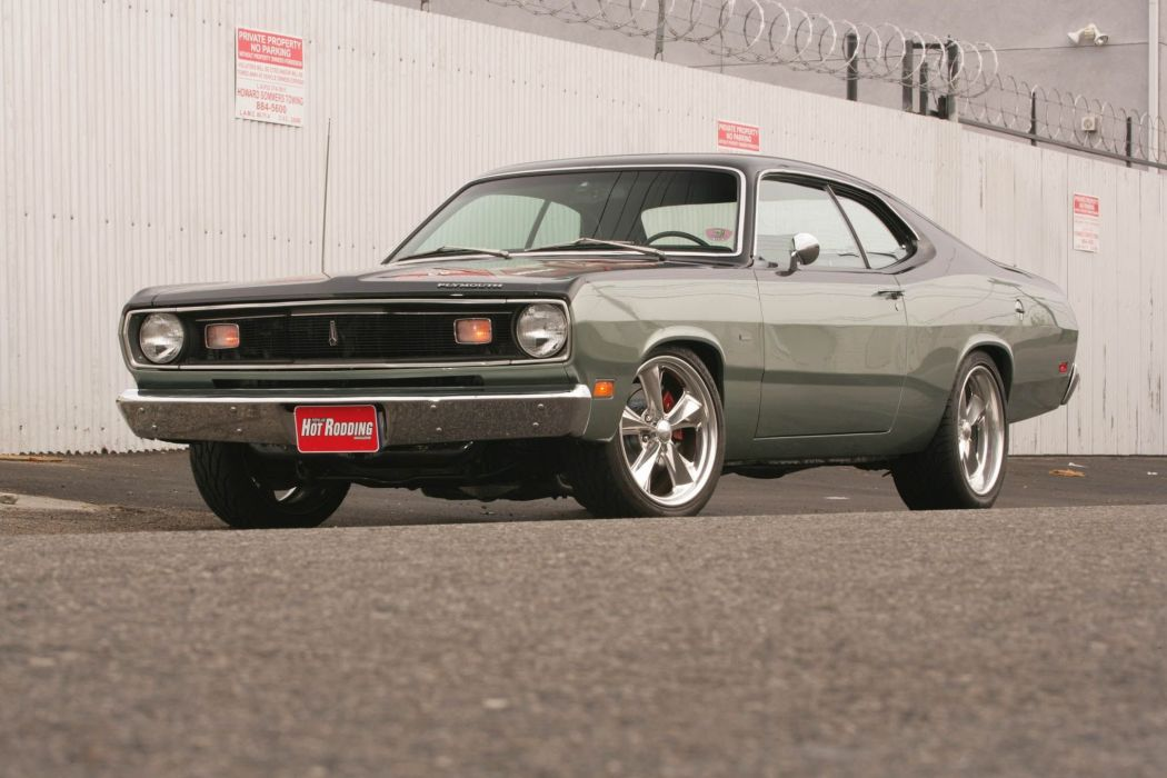 MOPAR hot rod rods muscle dodge plymouth duster demon valiant wallpaper
