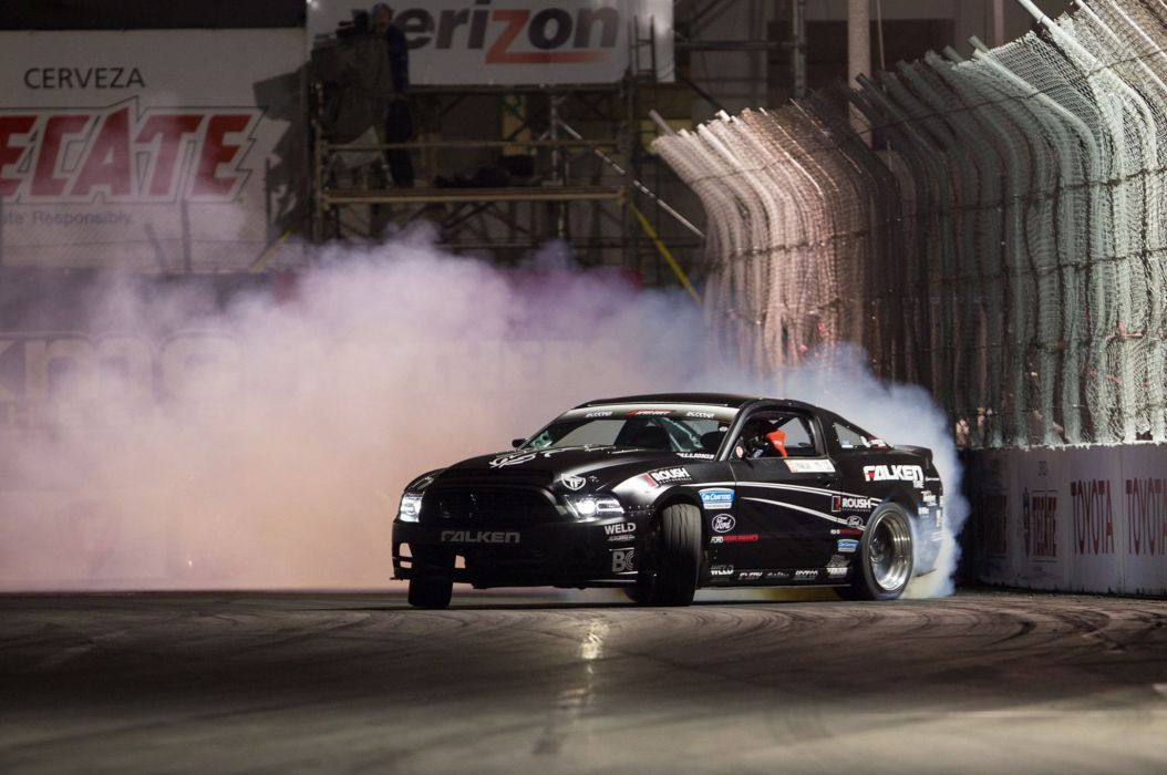 Ford Mustang hot rod rods race racing drift tuning wallpaper
