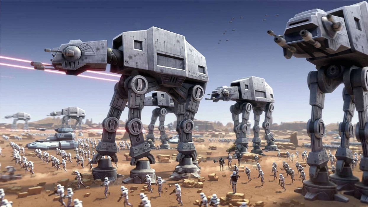 STAR WARS COMMANDER sci-fi 1swcom action fighting futuristic shooter wallpaper