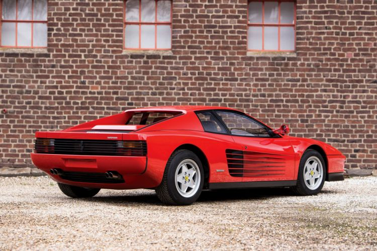 1989 Ferrari Testarossa Pininfarina supercar wallpaper