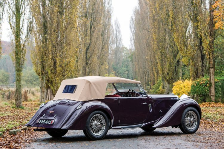 1937 Lagonda LG6 Rapide Tourer luxury retro vintage wallpaper