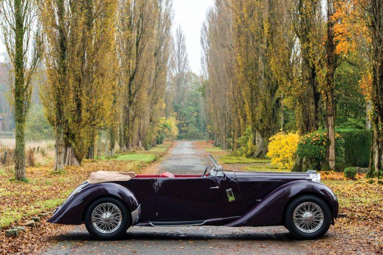 1937 Lagonda LG6 Rapide Tourer luxury retro vintage wallpaper