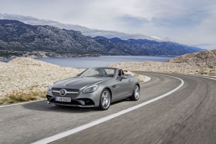 2016 Mercedes SLC AMG roadster cars wallpaper