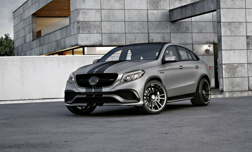 2016 Wheelsandmore Mercedes AMG GLE-63 Coupe cars modified wallpaper