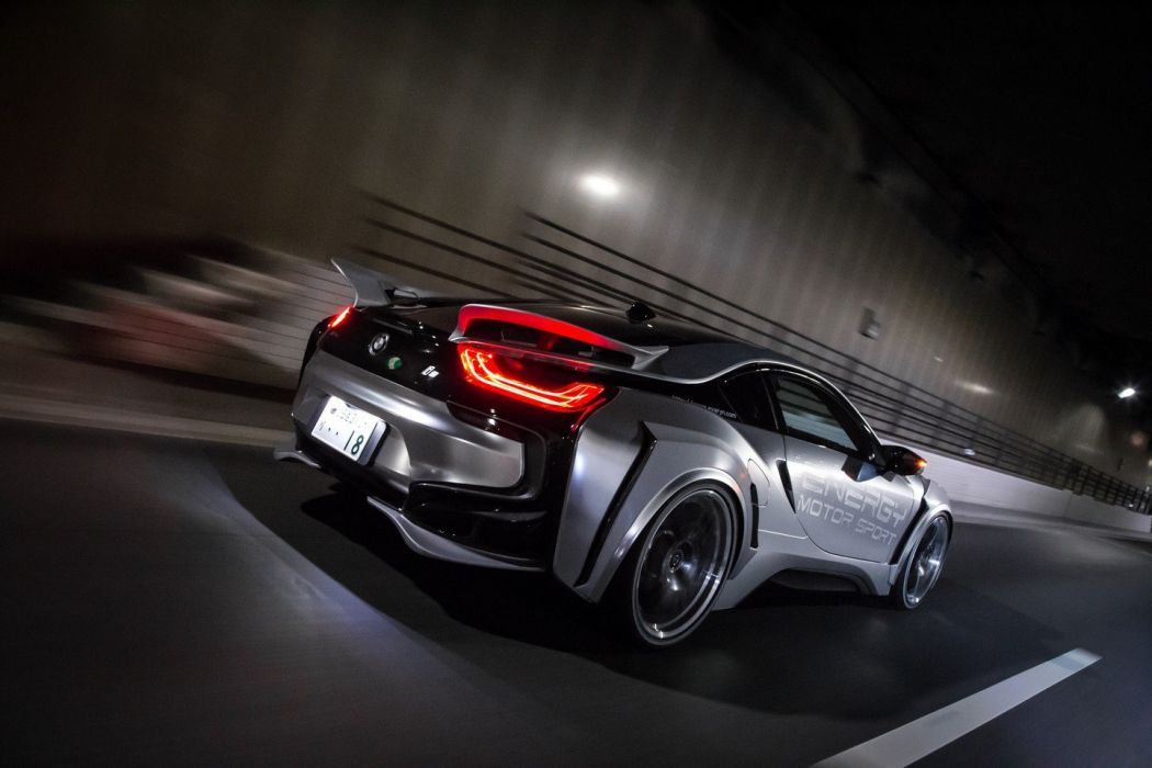 Bmw I8 Bodykit Tuner Energy Motor Sport Cars Modified Electric