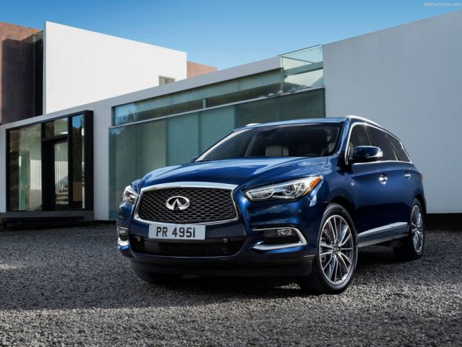 Infiniti QX60 cars suv 2016 blue wallpaper