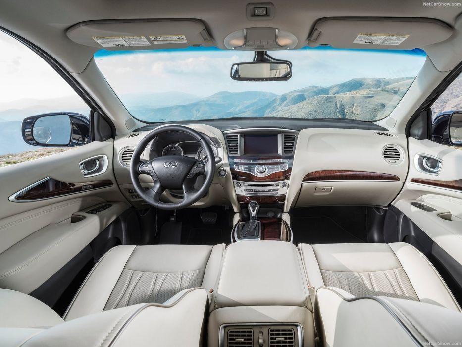 Infiniti QX60 cars suv 2016 blue interior wallpaper