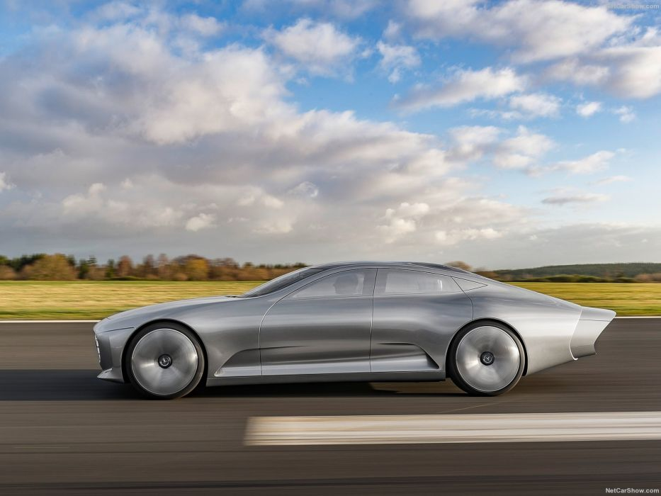 2015 benz Concept iaa Mercedes Supercar wallpaper