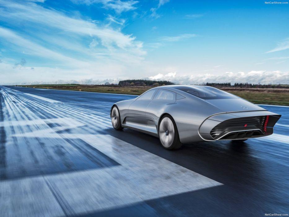 2015 benz Concept iaa Mercedes Supercar wallpaper