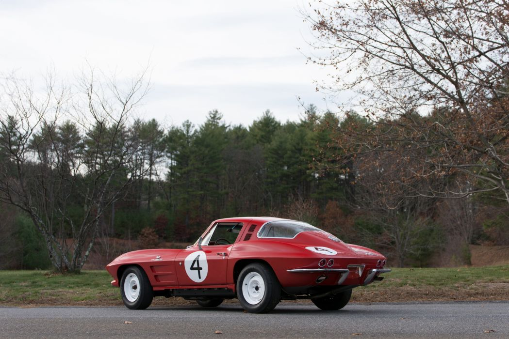 1964 Chevrolet Corvette Sting Ray L84 SCCA race racing rally stingray muscle hot rod rods supercar classic wallpaper