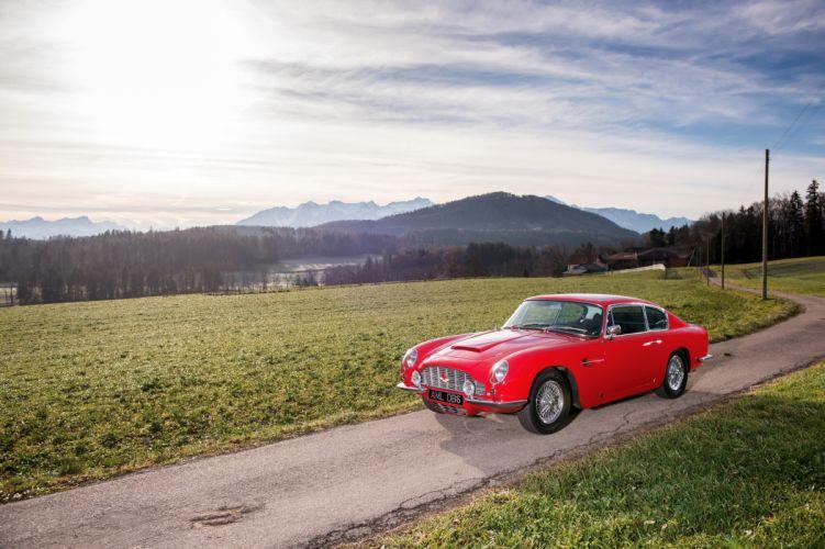 1966 Aston Martin DB6 classic wallpaper
