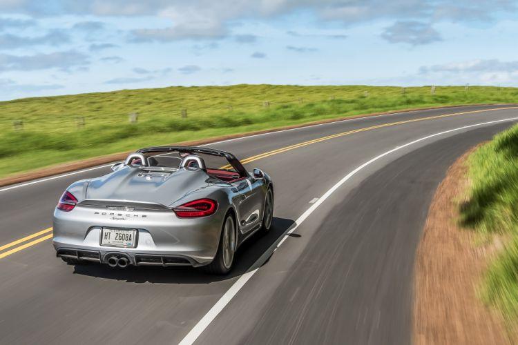 2016 Porsche Boxster Spyder US-spec 981 wallpaper