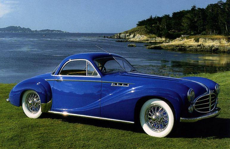 1953 Delahaye 235 M-S Coupe par Chapron luxury retro wallpaper