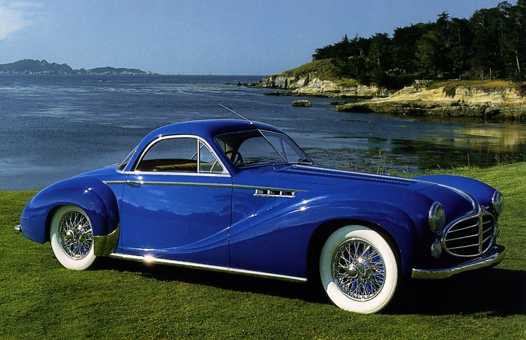 1953 Delahaye 235 M-S Coupe par Chapron luxury retro wallpaper
