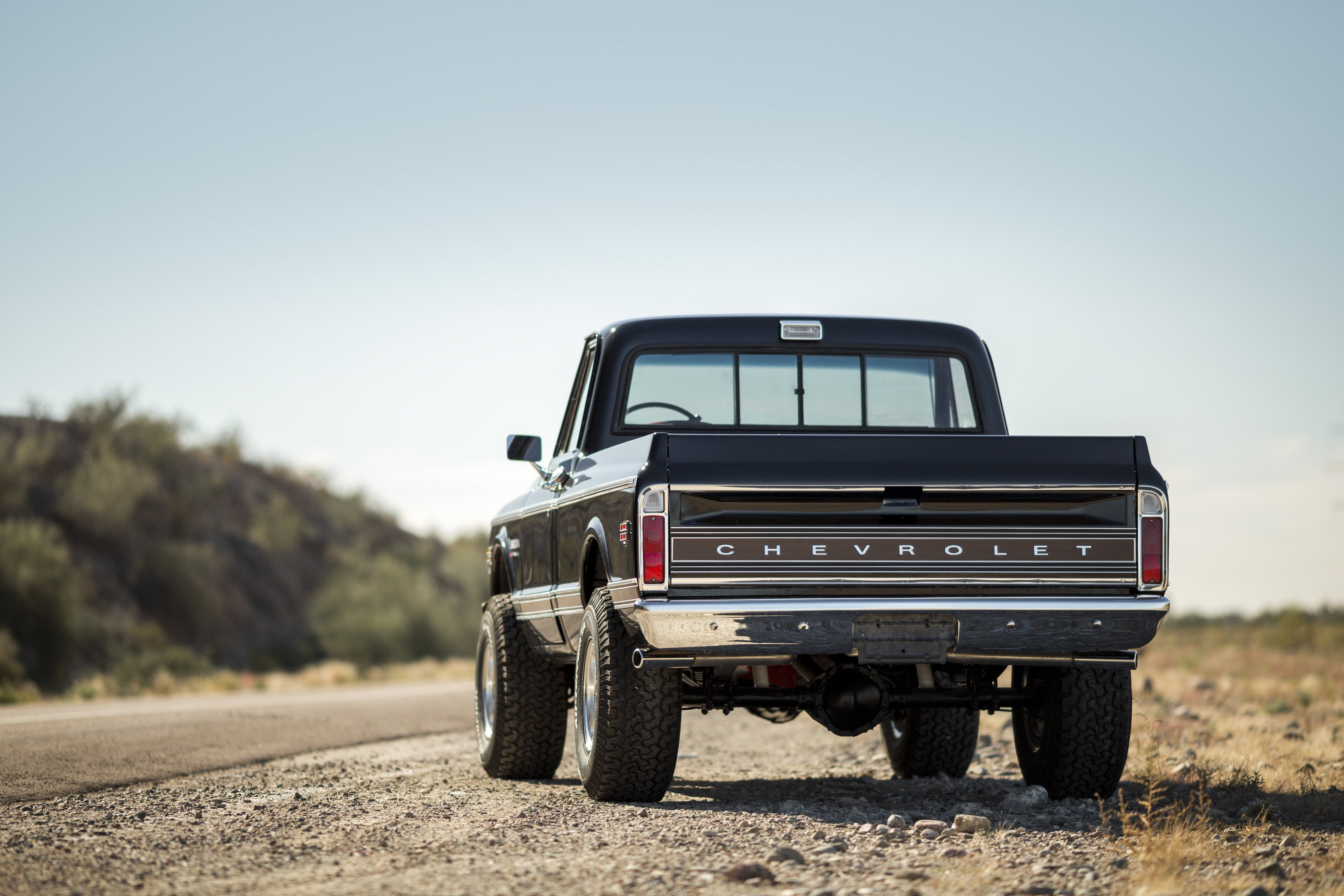 1972 Chevrolet K10 Cheyenne Super Fleetside Pickup 4x4
