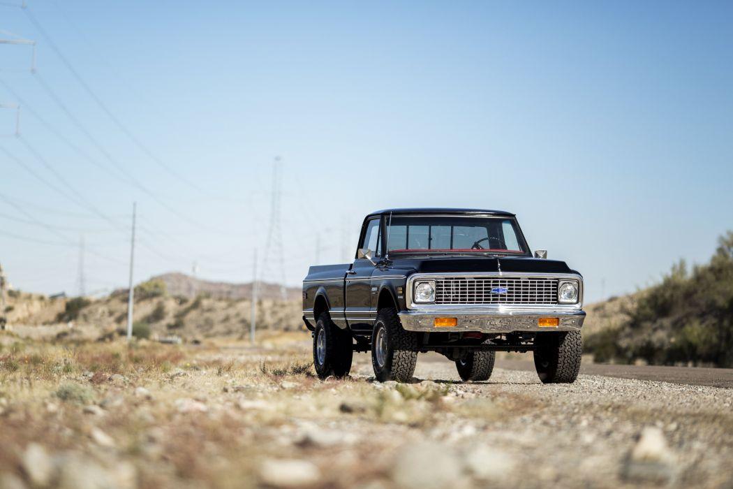 1972 Chevrolet K10 Cheyenne Super Fleetside Pickup 4x4 classic wallpaper