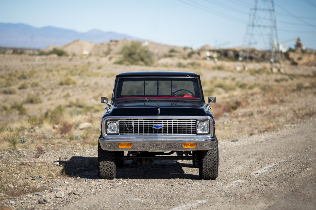 1972 Chevrolet K10 Cheyenne Super Fleetside Pickup 4x4 classic wallpaper