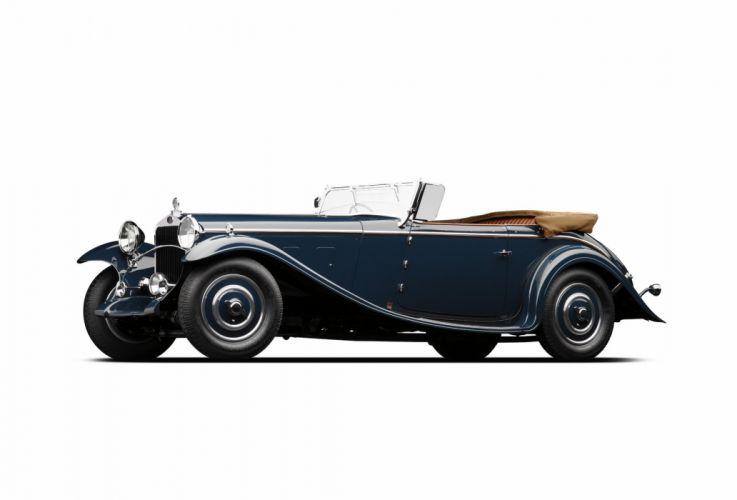 1932 Delage D-8 S-S Cabriolet par Chapron retro luxury vintage wallpaper