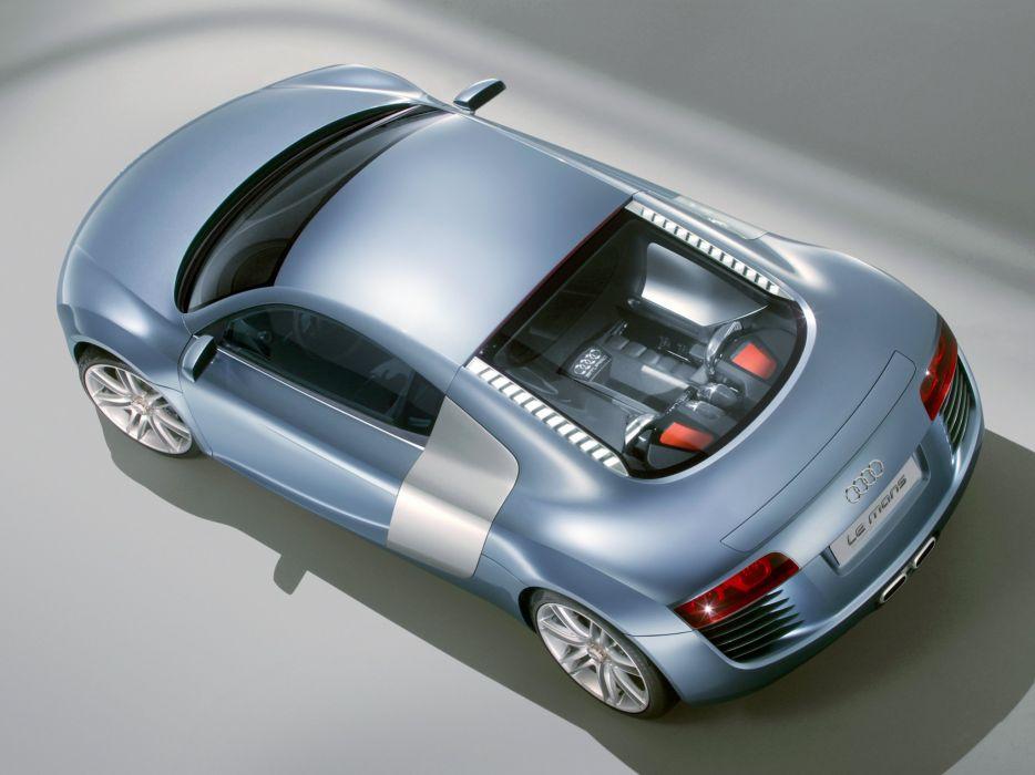 2003 Audi Le Mans Quattro Concept Lemans Supercar Wallpaper