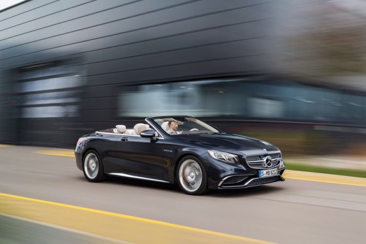 2016 Mercedes Benz AMG S65 Cabriolet A217 convertible luxury wallpaper
