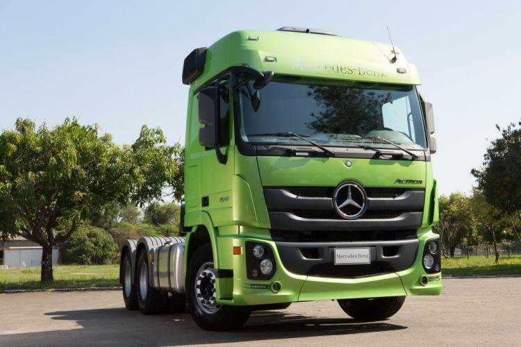 2015 Mercedes Benz Actros 2646 LS BR-spec MP3 semi tractor wallpaper