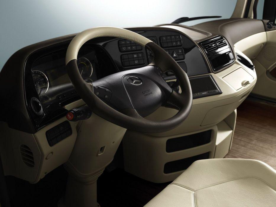 2006 Mercedes Benz Actros 1860 L-S Study Space Max Concept MP2 semi tractor wallpaper