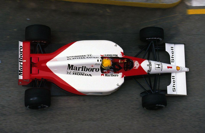 1991 McLaren Honda MP4-6 F-1 formula race racing wallpaper