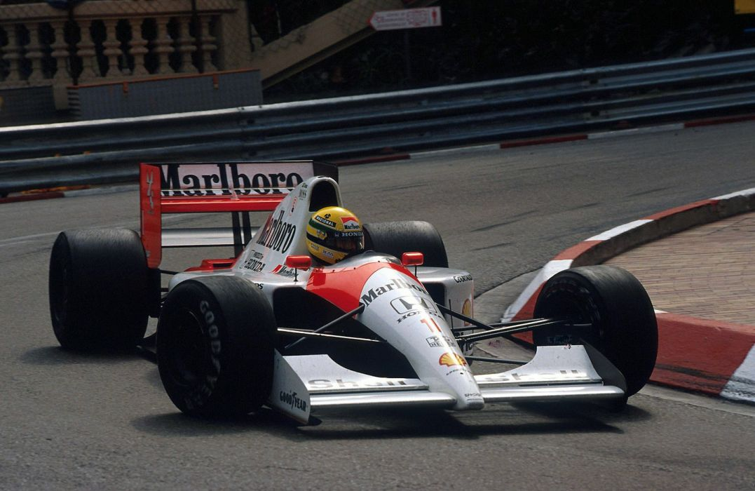 1991 McLaren Honda MP4-6 F-1 formula race racing wallpaper