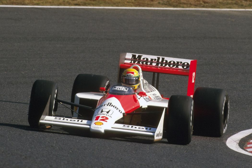 1988 McLaren Honda MP4-4 formula f-1 race racing wallpaper