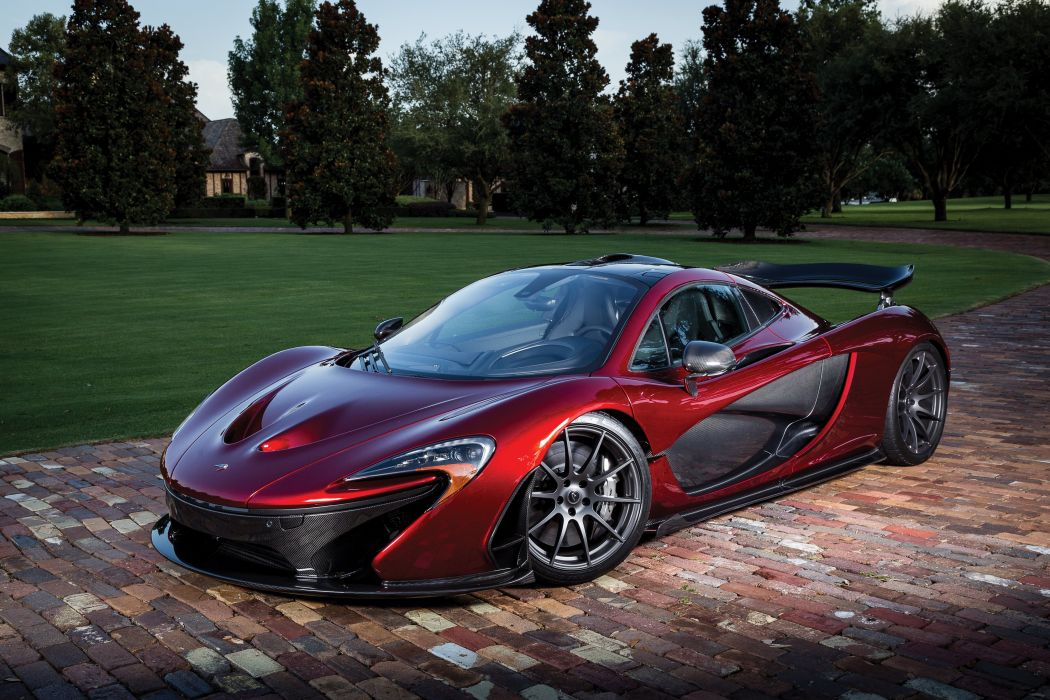 2015 McLaren P-1 US-spec supercar wallpaper
