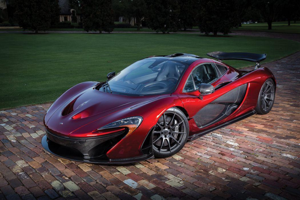 2015 McLaren P-1 US-spec supercar wallpaper