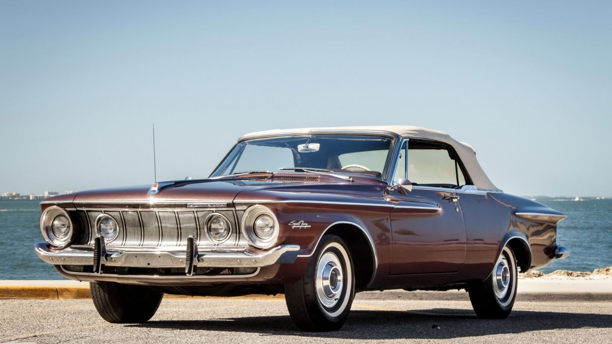 1962 Plymouth Sport Fury Convertible muscle classic wallpaper