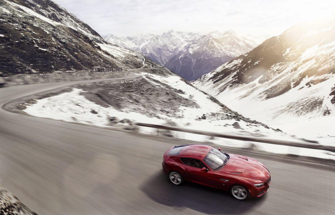 2012 BMW Zagato Coupe gts wallpaper