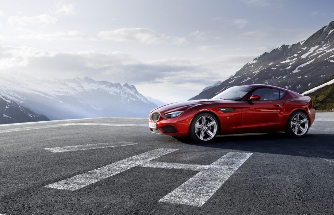 2012 BMW Zagato Coupe gts wallpaper