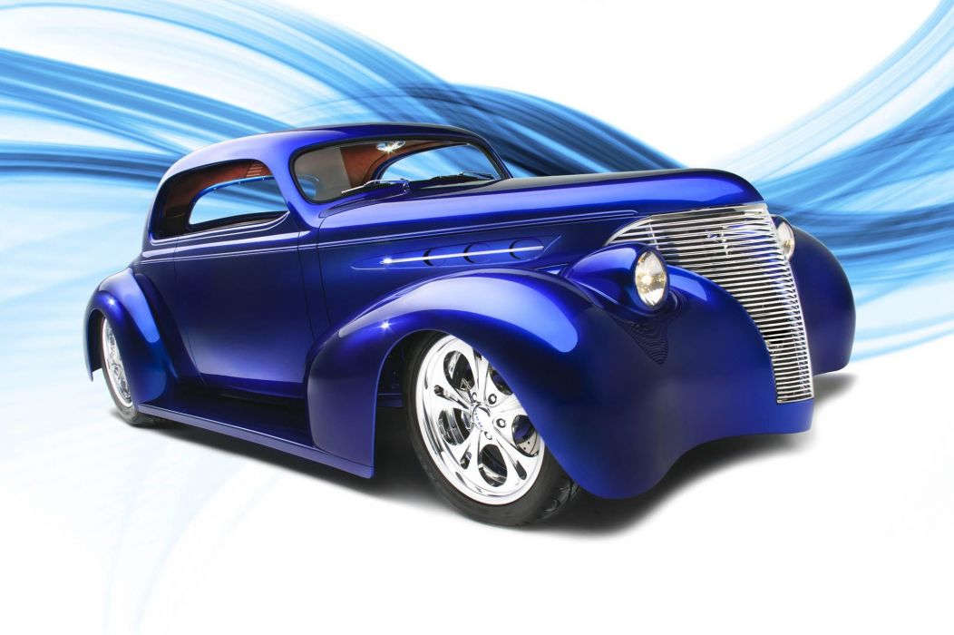 1939 Chevrolet coupe hot rod rods custom retro vintage wallpaper