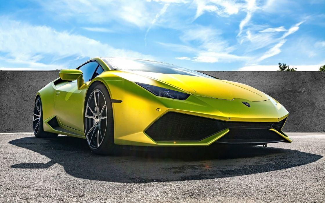 2015 xXx-Performance Lamborghini Huracan supercar wallpaper