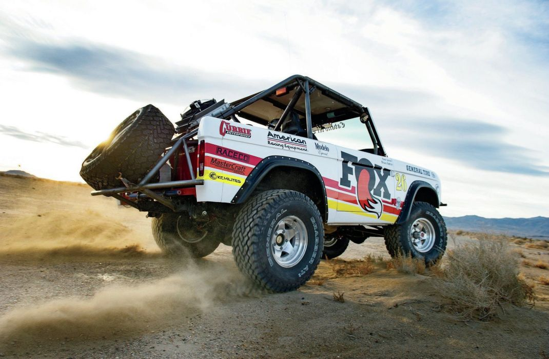 1968 Ford Bronco 4x4 suv offroad race racing classic wallpaper