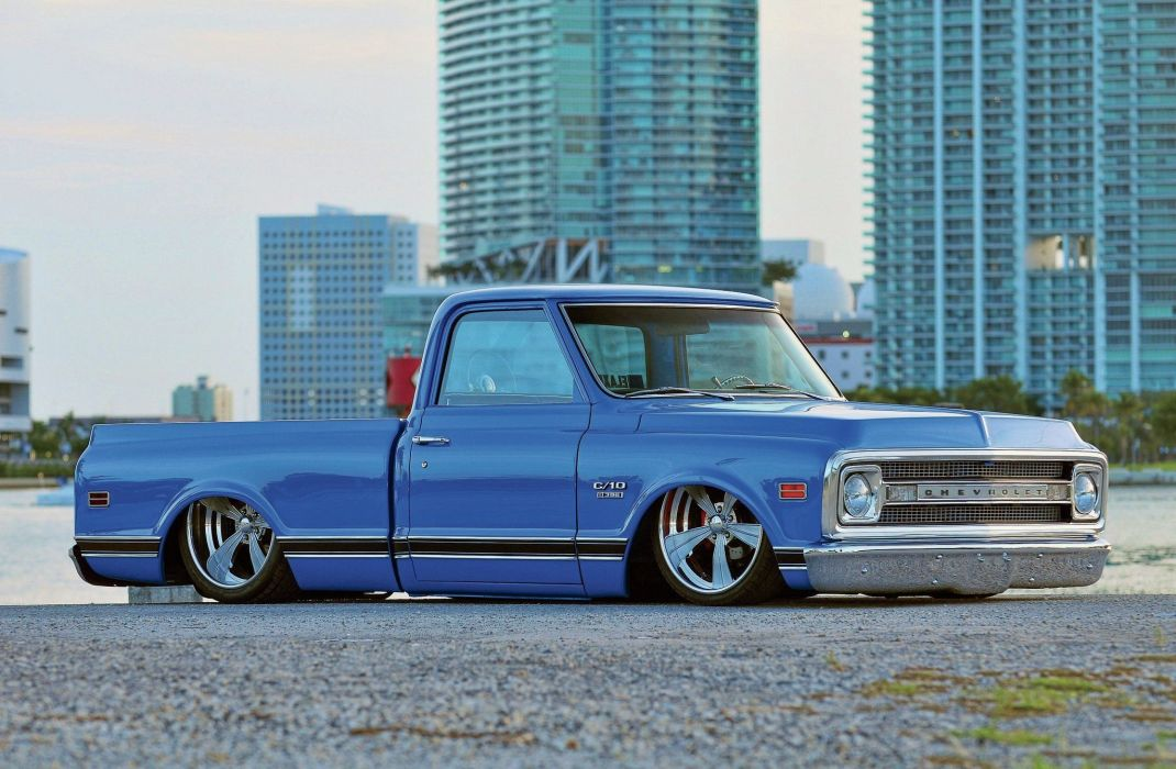 1969 Chevrolet C10 custom hot rod rods pickup lowrider c-10 wallpaper