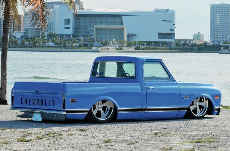 1969 Chevrolet C10 custom hot rod rods pickup lowrider c-10 wallpaper