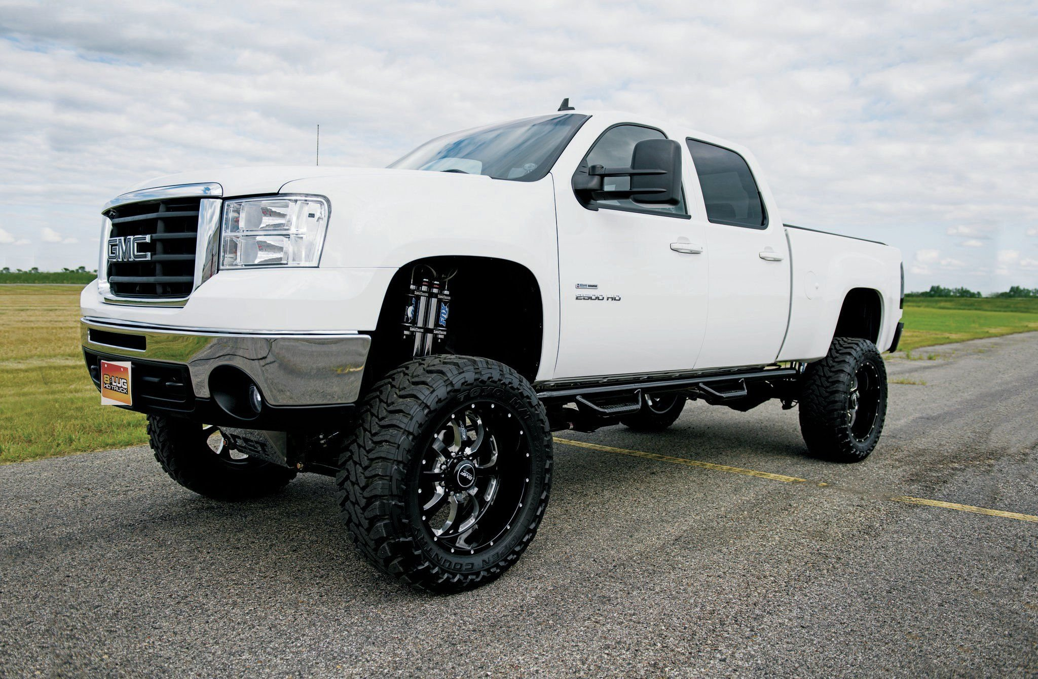 2009 Gmc Sierra 2500hd 4x4 Pickup Custom 2500 H D
