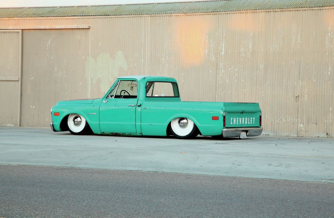 1971 Chevrolet C10 custom hot rod rods pickup lowrider c-10 wallpaper