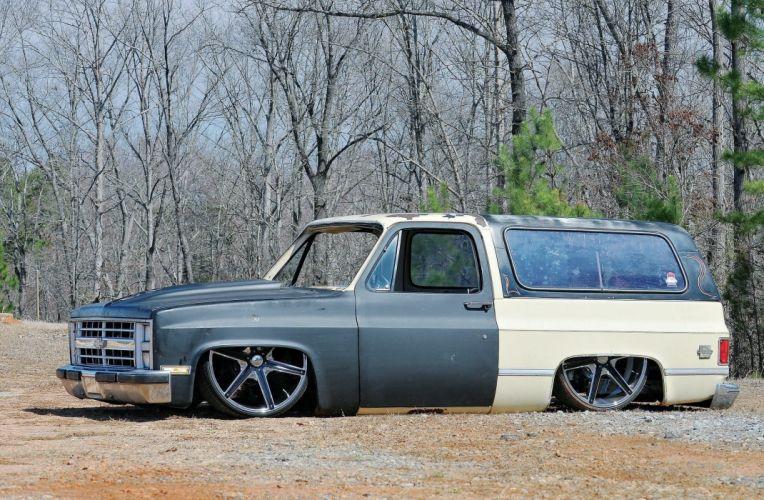 1984 Chevrolet Blazer custom hot rod rods suv lowrider wallpaper