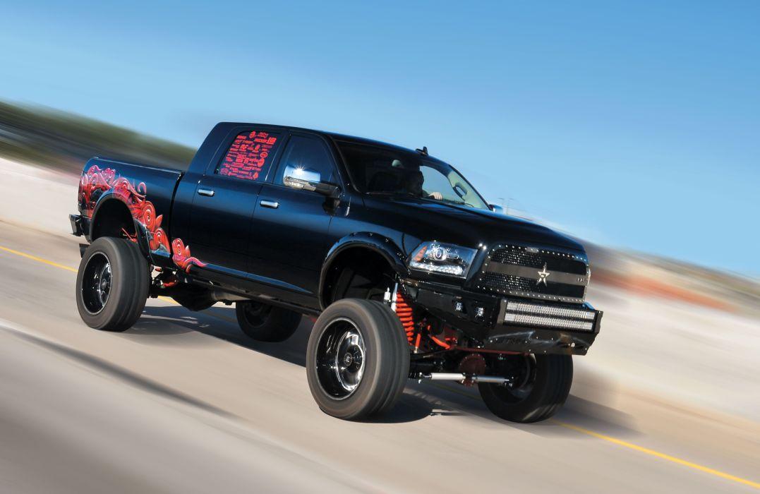 2014 Dodge Ram 2500 4x4 Pickup Custom Mopar Wallpaper 5675x3691 863012 Wallpaperup