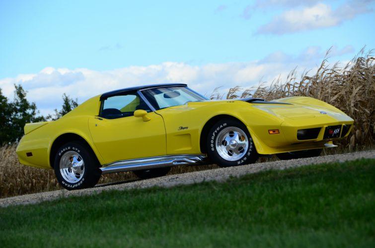 1975 Chevrolet Corvette C-3 427ci supercar custom muscle hot rod rods stin ray stingray wallpaper