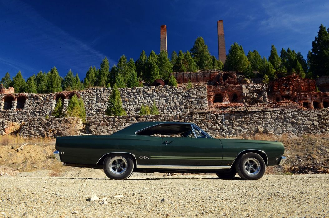1968 Plymouth GTX mopar muscle classic wallpaper