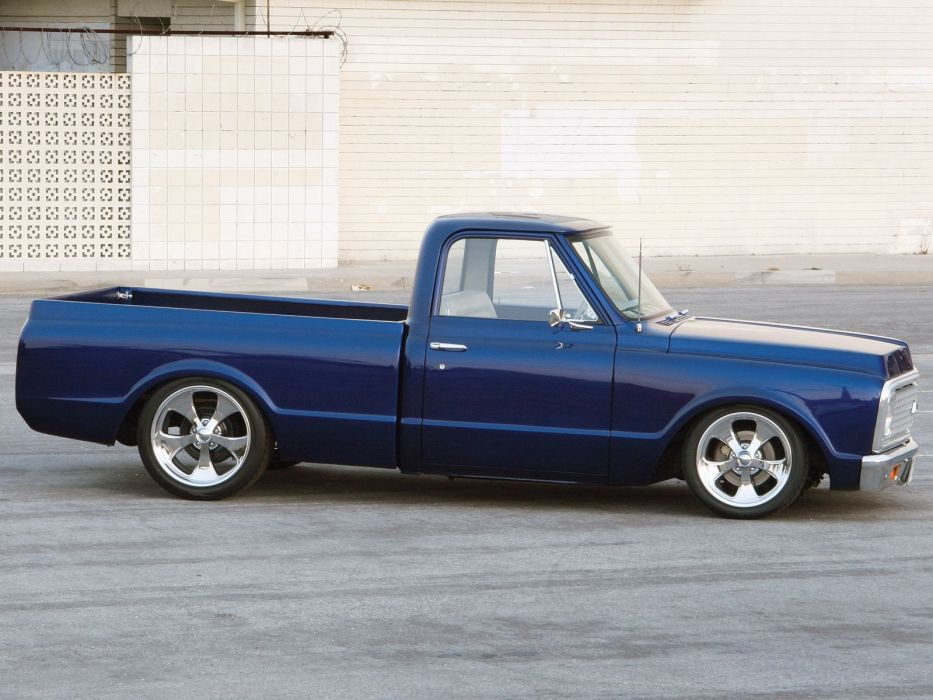 1972 Chevy C10 Pickup hot rod rods custom wallpaper